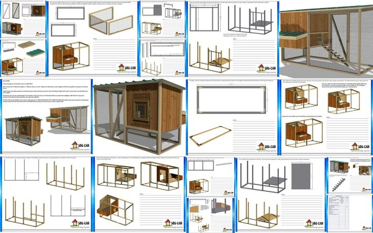 Free chicken coop plans for 12 chickens woodworking for Chicken coop kits for 12 chickens