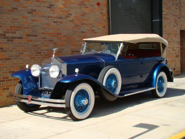 1931 Rolls Royce Brewster Ascot Phaeton