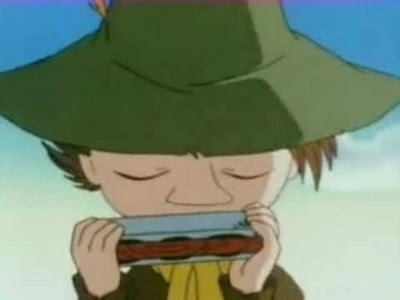 Snufkin from The Moomins.