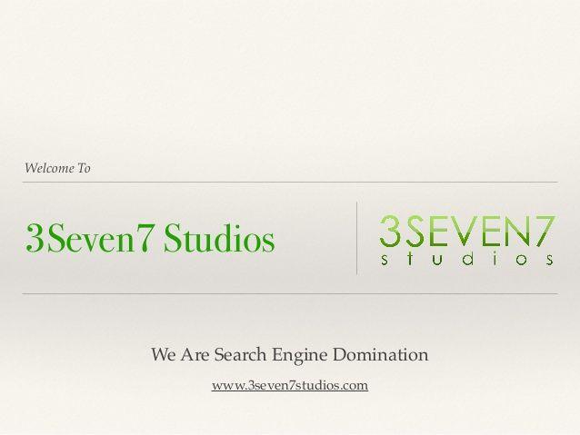Calgary SEO Best Local Company | 3Seven7 Studios