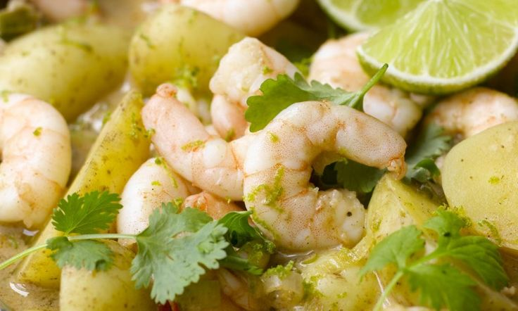 For a quick curry that packs quite a hit, try this easy prawn number.