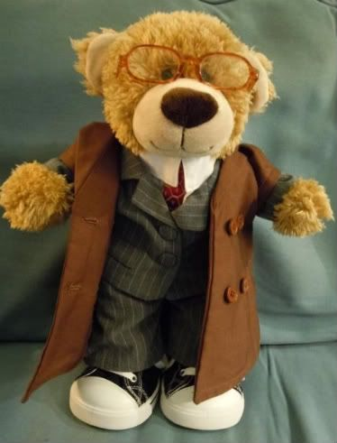 Doctor Who Build a Bear list of items. I want one!!!!! 10th