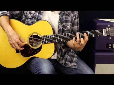How To Play - Led Zeppelin - Ramble On - Acoustic Guitar Lesson - Part 1 - YouTube