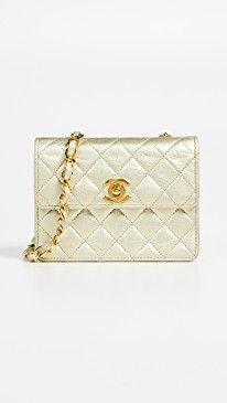 a31cc6b60f8ffb What Goes Around Comes Around Chanel Half Flap Micro Mini Bag in ...