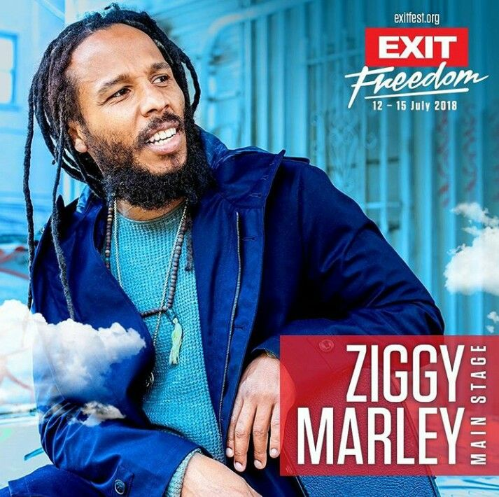 Ziggy Marley will play Exit Festival in 2018