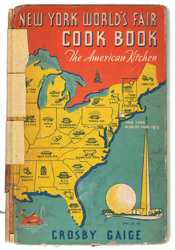 New York World's Fair Cook Book The 1939