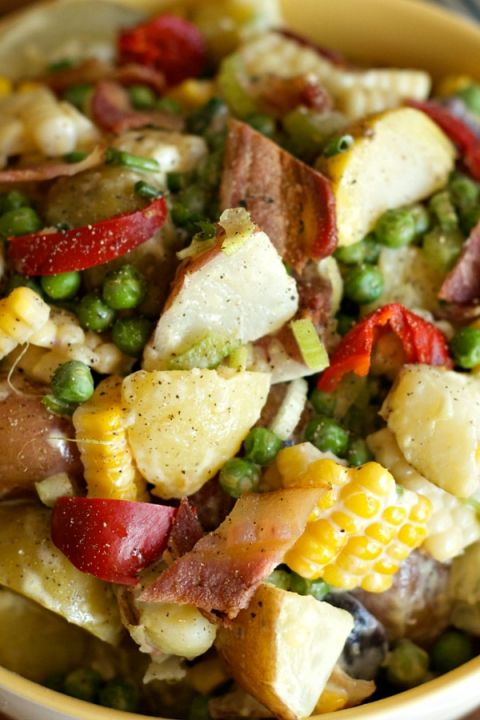 Best Potato Salad Recipe remove bacon for vegetarian