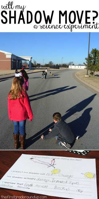Do shadows change? The shadow experiment is one of the most engaging experiments we do all year in first grade!