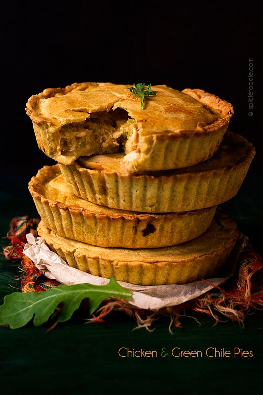 Childhood Friendship Plus Chicken and Green Chile Pies Made with Corn and Oat Flour Pie Crust