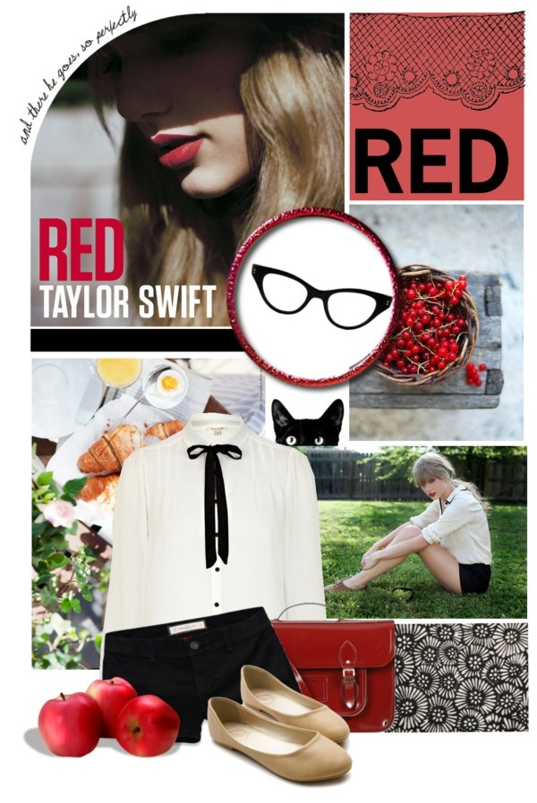 """Red - Taylor Swift"" by meow1234 ❤ liked on Polyvore"