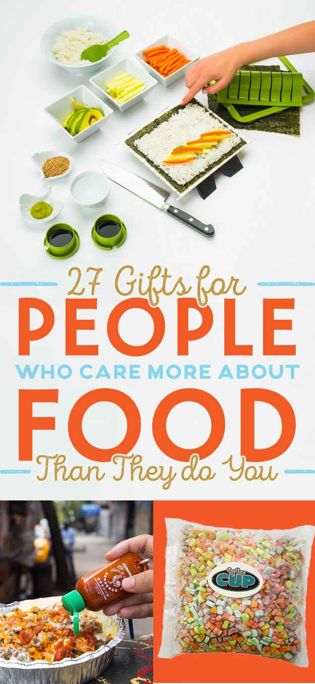 27 gifts for people who care more about food than they do you - Best Gift For A Chef