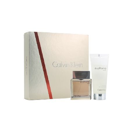 Calvin Klein Euphoria Men Gift Set 50ml 0056837 A fresh, oriental scent, Calvin Klein Euphoria Men eau de toilette spray opens with top notes of ginger pepper cocktail, raindrop accord and chilled sudachi, fusing with a heart of black basil, cedar  http://www.MightGet.com/may-2017-1/calvin-klein-euphoria-men-gift-set-50ml-0056837.asp