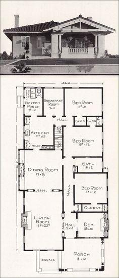Best 25+ Bungalow house design ideas on Pinterest Bungalow house - bungalow floor plans