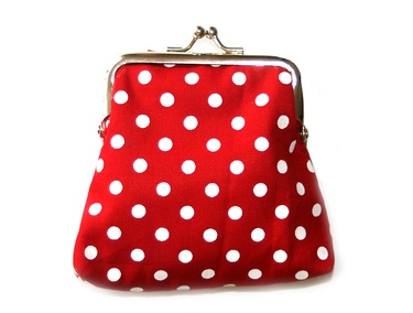 Love the combination of red & white dots #polkadots