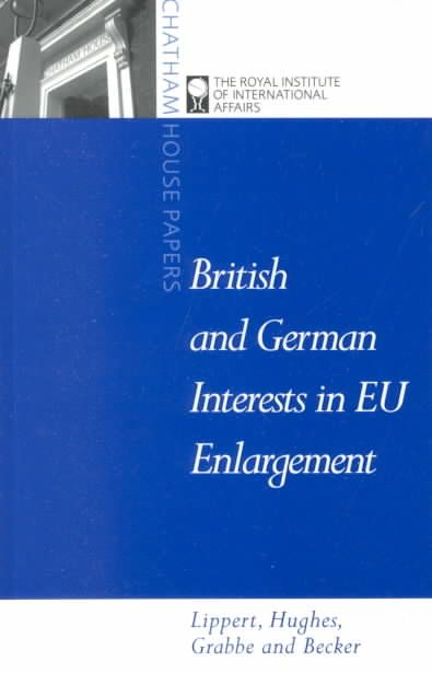 Britain, Germany Intersts in Eu Enlargement: Conflict and Cooperation