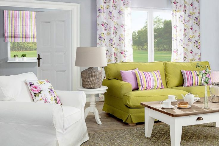 Spring in living room| Wiosna w salonie #dekoria #flowers #colorful #motves #energy #furniture # interiors #diy #home #flat #decorations #spring #green