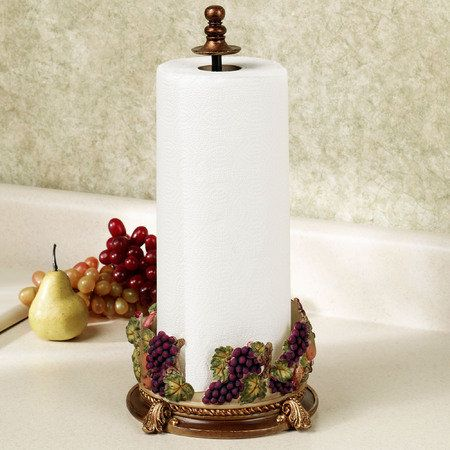 Would definitely go with kitchen decor ;) -- Falls Bounty Paper Towel Holder #CatalogsBigRedBow