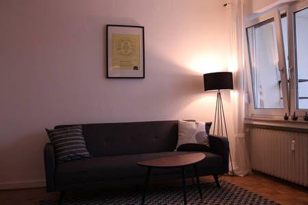 Schau Dir dieses großartige Inserat bei Airbnb an: Schönes Apartment mit Terrace in Düsseldorf