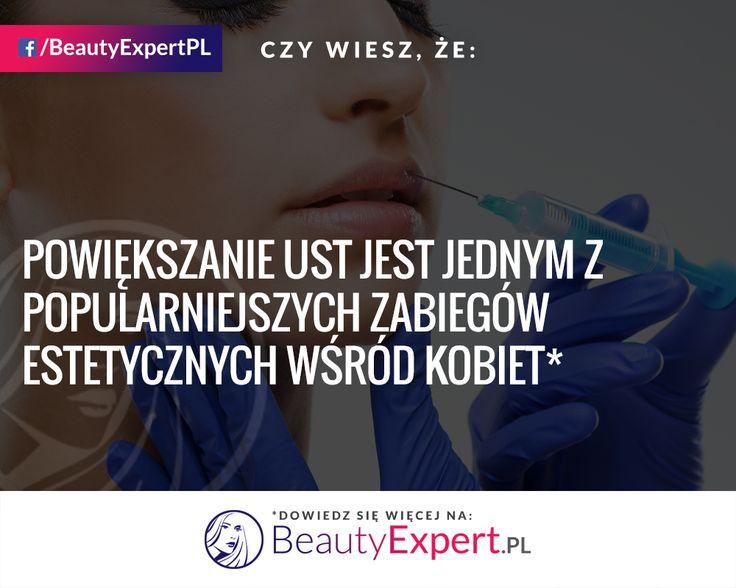 Czy któraś z was poddała się powiększaniu ust? :) #BeautyExpert #PowiększanieUst #MedycynaEstetyczna