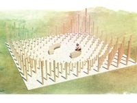 Gianluca Nicolini architect / Folly 2013 - Folly competition to build at Socrates Sculpture Park - New York, Stati Uniti