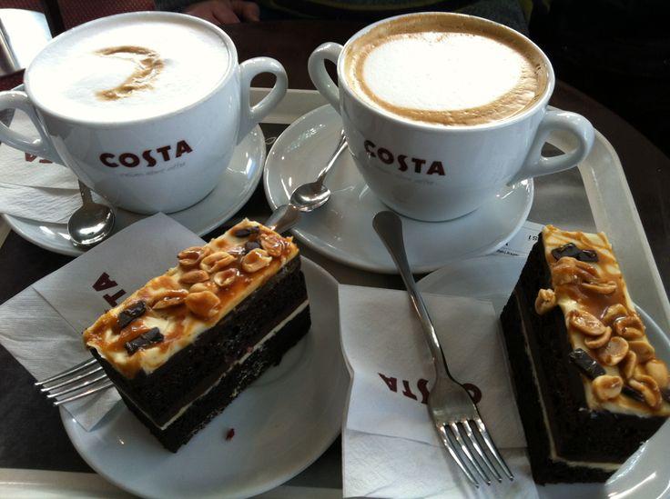 Latte + Brownie