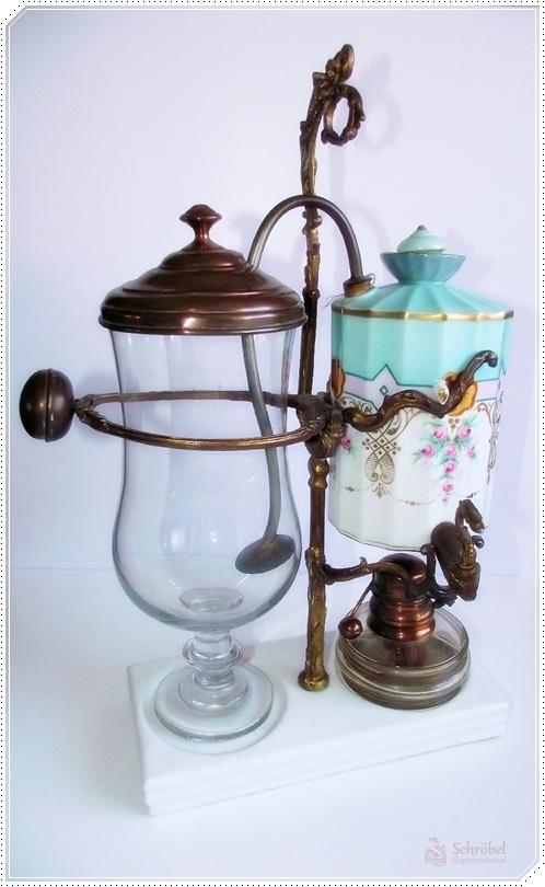 Parallel-Vakuum-Kaffeemaschine 19. Jahrhundert