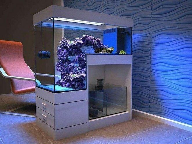 Amazing And Calm Aquarium Room Divider 00033 Unique Ideas Diy