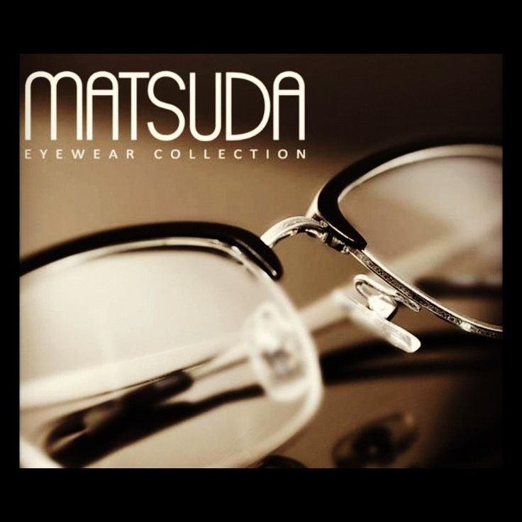 23 Best Images About Matsuda Eyewear On Pinterest Models