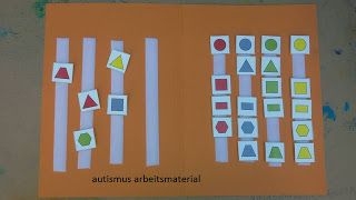 Autismus Arbeitsmaterial: TEACCH: File Folders