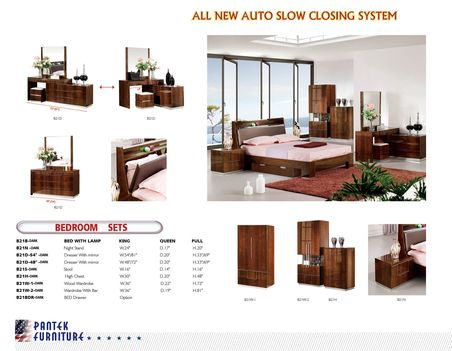 Buy Modern Bedroom Set B 21 Dark Queen Size Bed At Discount Price At New  York U0026 New Jersey Furniture Store