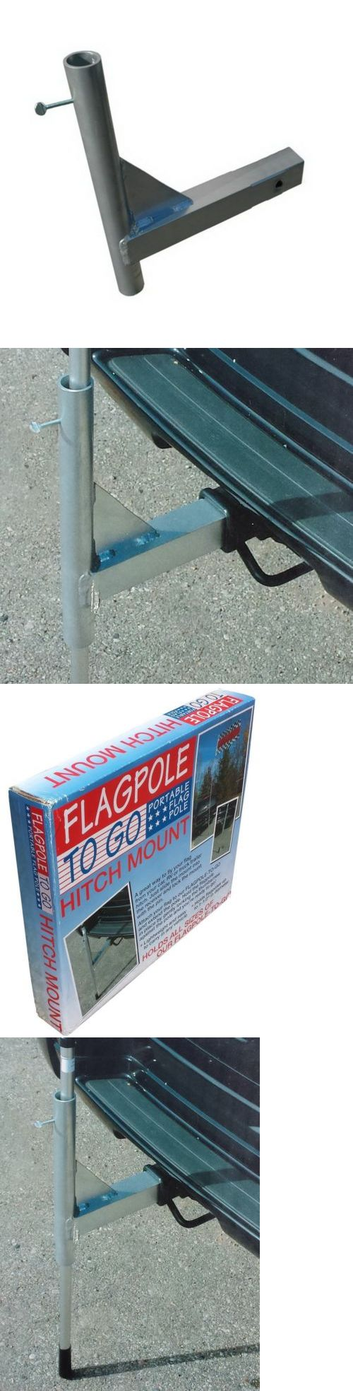 Flag Poles and Parts 43536: New Flagpole Trailer Hitch Mount Car Truck Suv Flag Pole Holder -> BUY IT NOW ONLY: $42.98 on eBay!