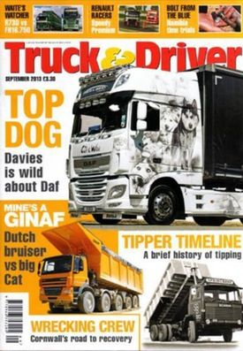 Subscribe to Truck & Driver - Thousands of workers across the U.K. rely on trucks to make a living, and Truck & Driver is the publication for them. It features an in-depth look at the business aspect of truck driving.