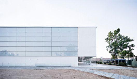 Pabellón Polideportivo y Aulario Universidad Francisco de Vitoria,© Javier Callejas