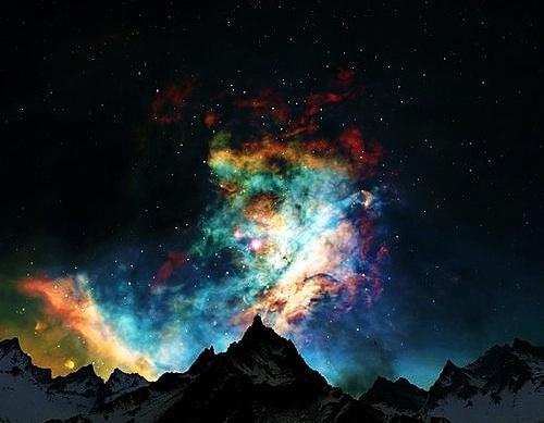 Space mountain | Natural Wonders | Pinterest