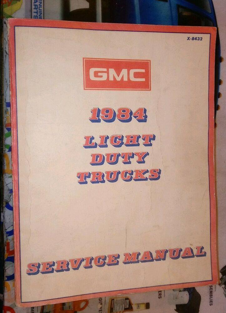Advertisement Ebay 1984 Gmc C K 10 20 30 Truck Blazer Suburban