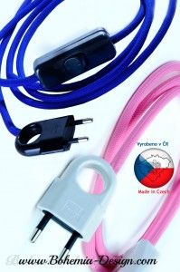 Prodlužovací kabel 1,8 m 2x0,75mm2 s vypínačem