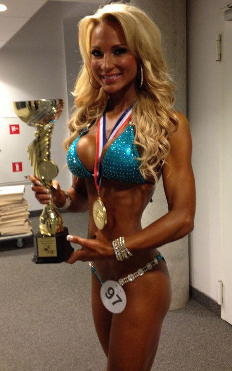 Anna Virmajoki - IFBB Pro Bikini Athlete, Winner of IFBB World Championship 2012 - Women's Bikini Fitness over 168cm, Winner of IFBB Nordic Pro 2013, Overall Finnish National Champion 2012, European Champion 2012 over 168cm