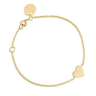 SOPHIE by SOPHIE - Heart bracelet (goldplated)