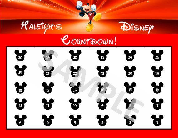 The 25+ best Printable countdown calendar ideas on Pinterest - countdown calendar template