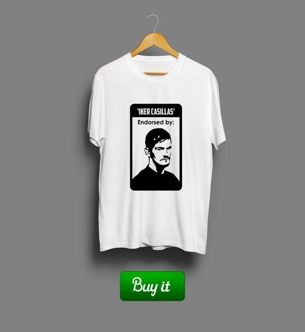 Iker Casillas   #Икер #Касильяс #Реал #Мадрид #Real #Madrid #Club #Futbol #футбол #футболка #tshirt #Iker #Casillas