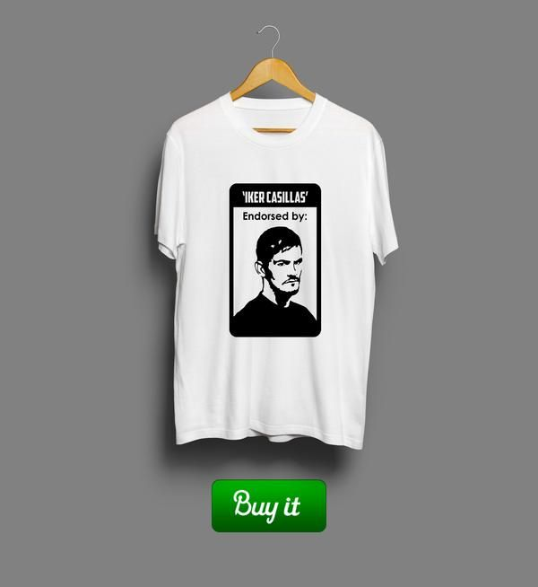 Iker Casillas | #Икер #Касильяс #Реал #Мадрид #Real #Madrid #Club #Futbol #футбол #футболка #tshirt #Iker #Casillas