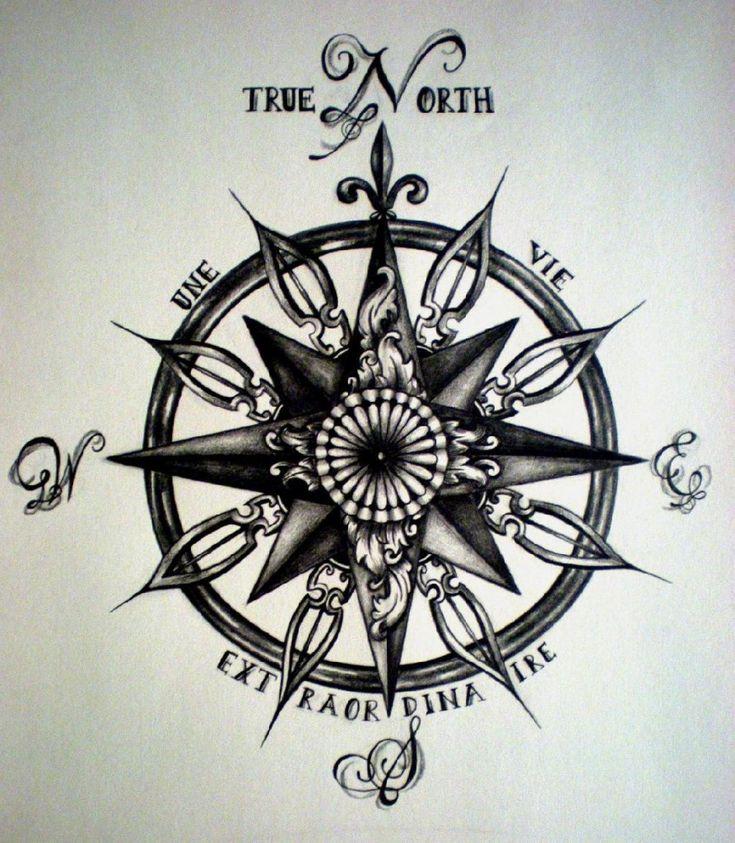 Les 25 meilleures id es concernant rose des vents sur pinterest dessin boussole tatouage de - Tatouage rose des vent ...