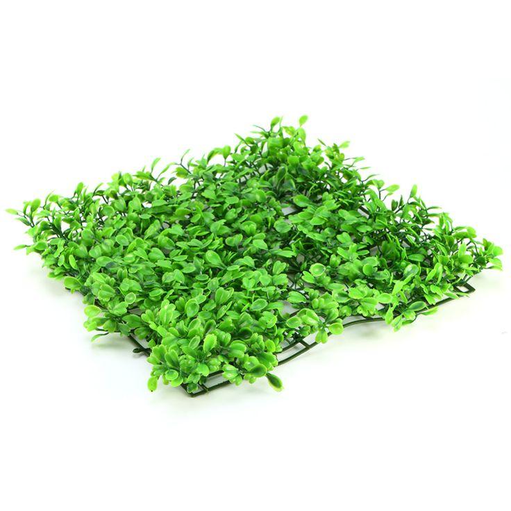 Экологически чистый Аквариум Украшения Искусственный Аквариумных Растений Пластиковая Зеленая Трава Завод Газон Водная Fish Tank Аксессуары