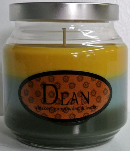 Dean - Whiskey, gunpowder, and leather I might really want this