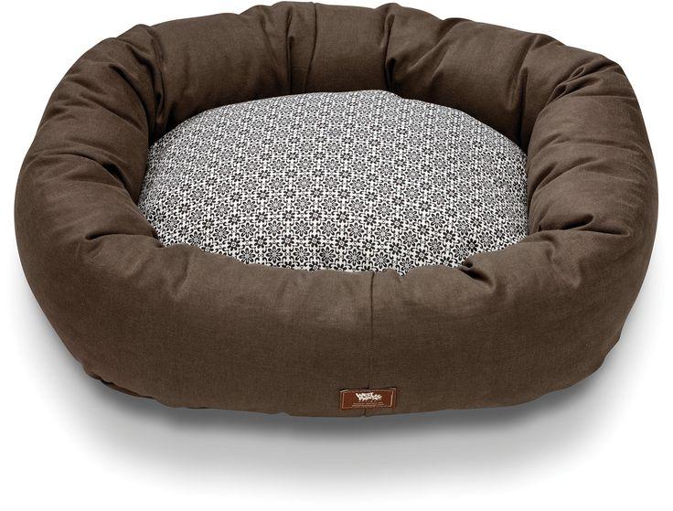 Bumper Bed with Hemp   West Paw Design