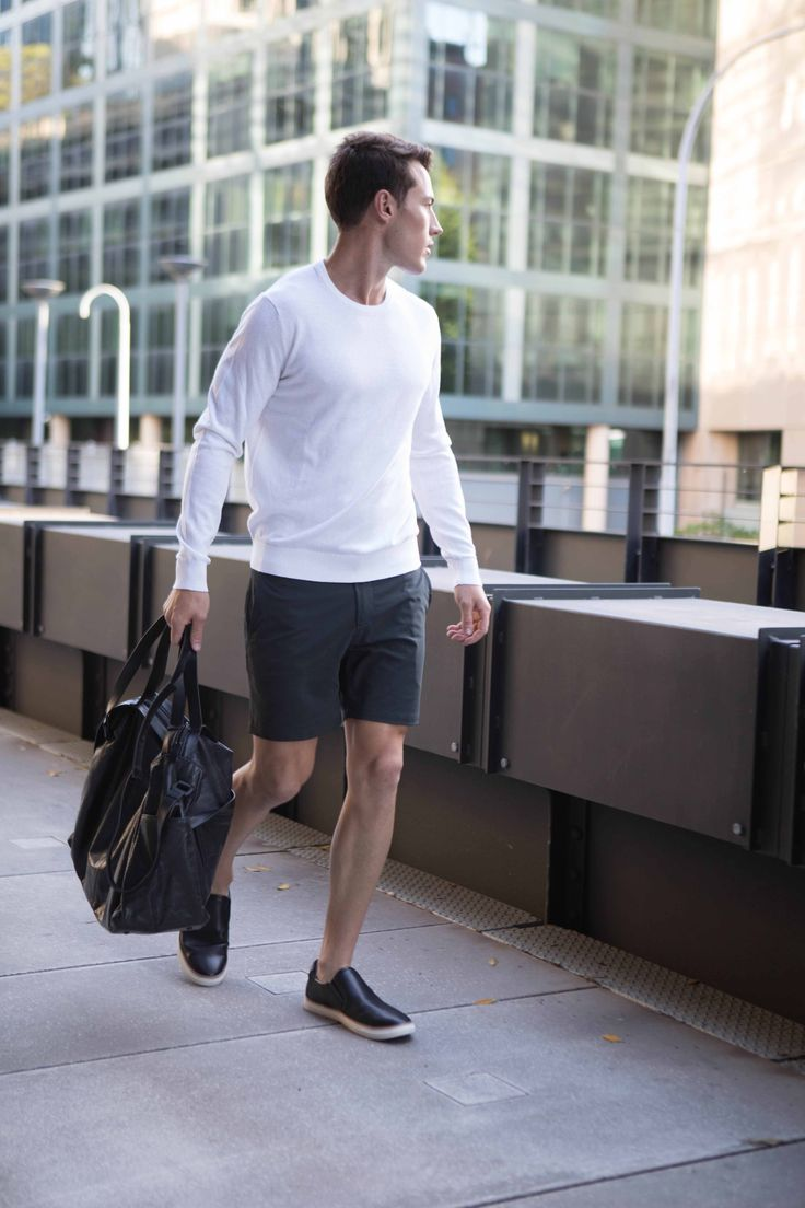 Non Stop Shorts | Cobba launch collection | Men's fashion | Men's shorts | Urban men | City life | Urban living | Gym shorts | Mid length | Everyday Shorts | Home | Manson Black | mens accessories |