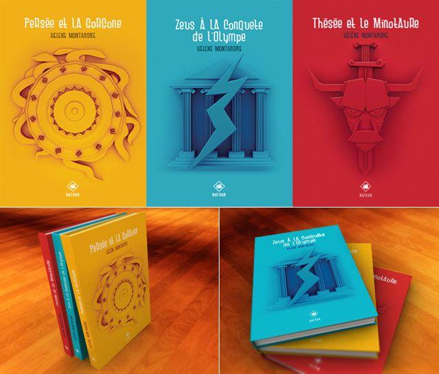 Mythology Book Cover by Florent Chau