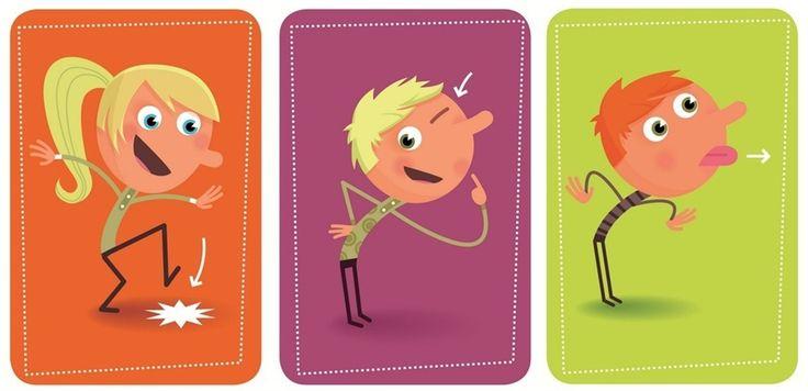 Djeco Gra Karciana Tip Tap Clap 05120 - zdjęcie 1