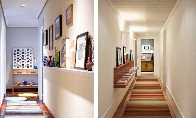 Corredores decorados – veja modelos e dicas para deixar seu corredor lindo! Veja muito mais fotos, dicas e informações técnicas desse corredor em Decor Salteado! É só clicar na imagem! ; - )