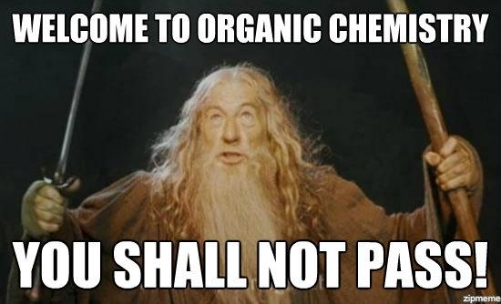 Organic chemistry was a lot of work, but really? Not impossible.